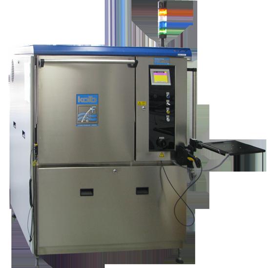 высокопроизводительная автоматическая система струйной отмывки печатных плат kolb серии psb500