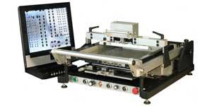 полуавтоматический трафаретный принтер mechatronic systems s70