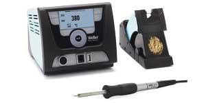 цифровая сенсорная одноканальная паяльная станция weller wx 1012